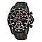 Seiko Men's Black And Orange Sportura Chronograph Watch - Product number 2263637
