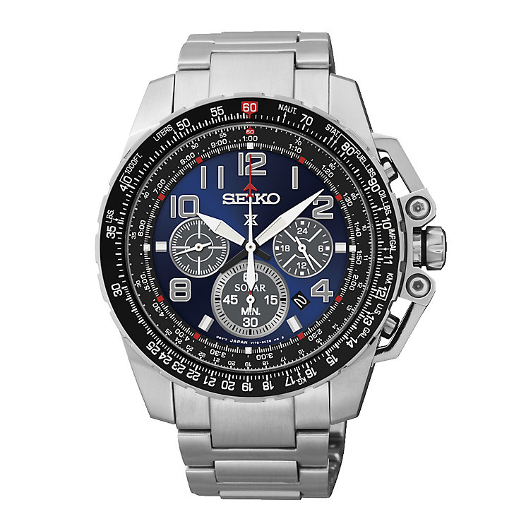 men s seiko watches h samuel seiko men s stainless steel prospex chronograph watch product number 2263653