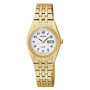 Seiko Ladies' Gold Plated Bracelet Watch - Product number 2263858