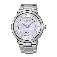 Seiko Ladies' Stainless Steel Pink Mother Of Pearl Watch - Product number 2263882