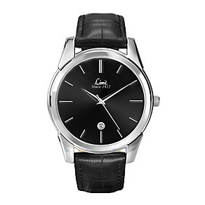 Limit Men's Black Dial & Black Strap Watch - Product number 2264269