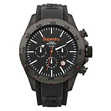 Superdry Men's Adventurer Black Silicone Strap Watch - Product number 2265117