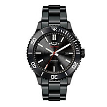 Rotary Men's Black Ion Plated Bracelet Watch - Product number 2267802