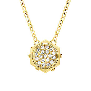 Swarovski Bolt gold-plated micro crystal pendant - Product number 2268493
