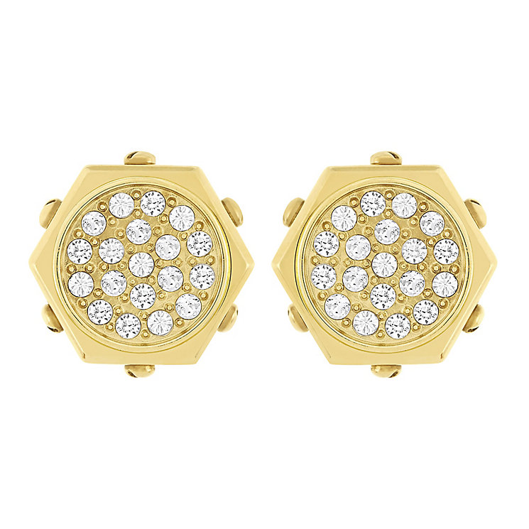 Swarovski Bolt gold-plated crystal earrings - Product number 2268507