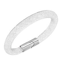 Swarovski Stardust light grey crystal bracelet size M - Product number 2268523