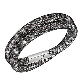 Swarovski Stardust black crystal bracelet - Product number 2268566