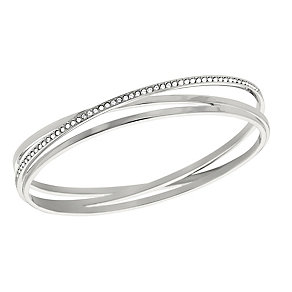 Swarovski Spiral crystal bangle size M - Product number 2268574