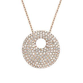 Swarovski rose gold-plated crystal pendant - Product number 2268590