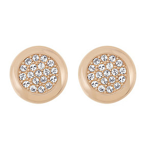 Swarovski rose gold-plated stone set earrings - Product number 2268639