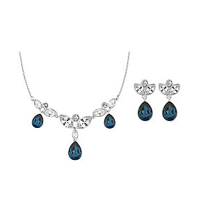 Swarovski Blues necklace and drop earrings set - Product number 2268647