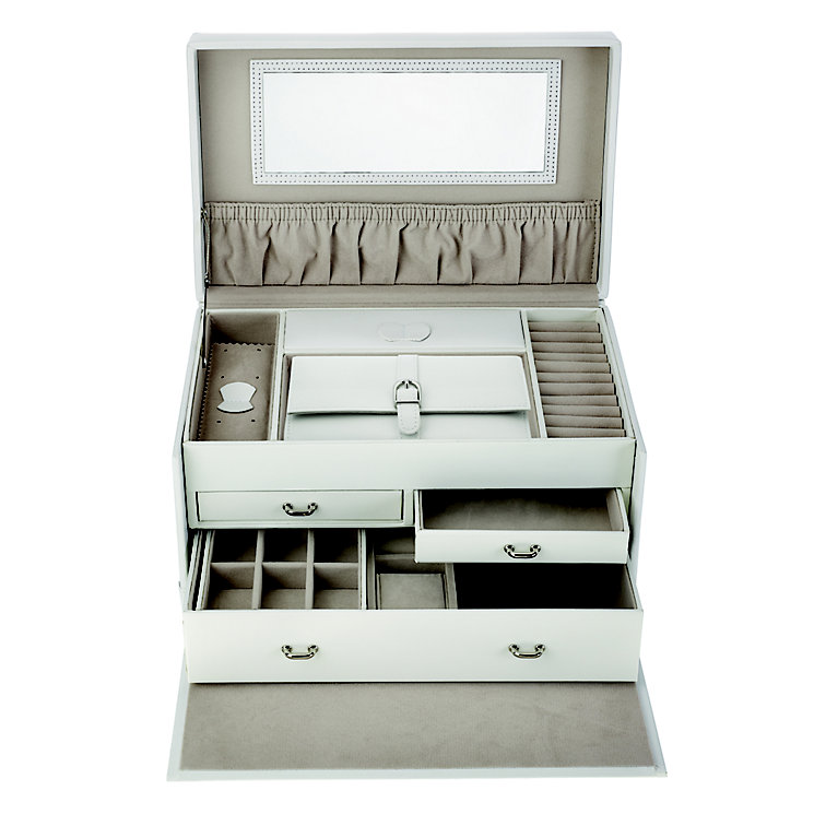 White Extra Large Jewellery Box - Product number 2268779