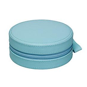 Teal Circular Zip Detail Jewellery Box - Product number 2268930