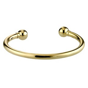 H Samuel 9ct Gold Torque Bangle product image