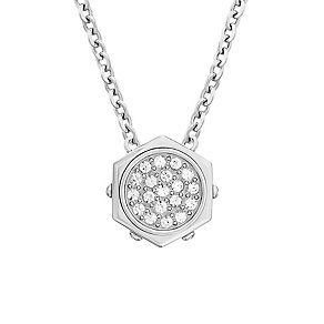Swarovski Bolt silver tone micro crystal pendant - Product number 2270234