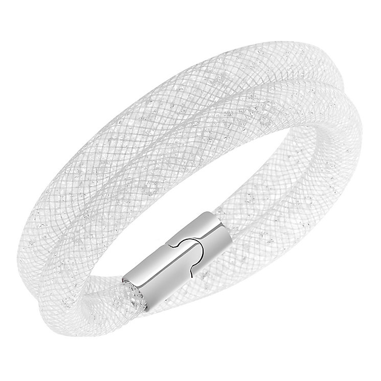 Swarovski Stardust crystal grey double bracelet size M - Product number 2270455
