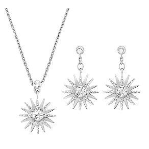 Swarovski Balthus crystal pendant & drop earring set - Product number 2270668