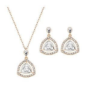 Swarovski Backstage drop earring & pendant set - Product number 2270803