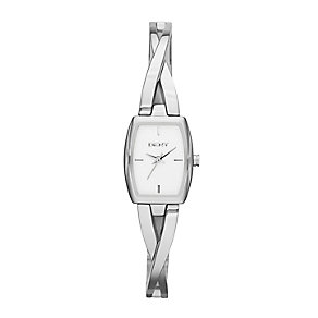 DKNY Ladies' Crosswalk Stainless Steel Bracelet Watch - Product number 2275589