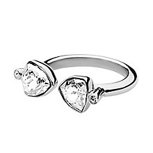 Dyrberg Kern Brill II Stainless Steel & Crystal Ring SM - Product number 2275805