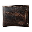Fossil Norton brown leather two-in-one sliding bifold wallet - Product number 2279231