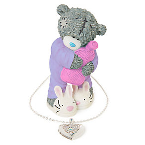 Me To You Warm Hugs Figurine & Necklace Set - Product number 2280531
