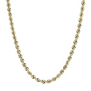 9ct Gold Rope Necklace 20