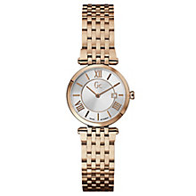 Gc ladies' rose gold-plated slim bracelet watch - Product number 2283034