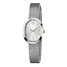 Calvin Klein ladies' stainless steel mesh bracelet watch - Product number 2284065