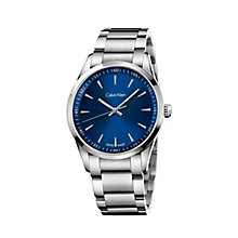 Calvin Klein New Bold men's stainless steel bracelet watch - Product number 2284073