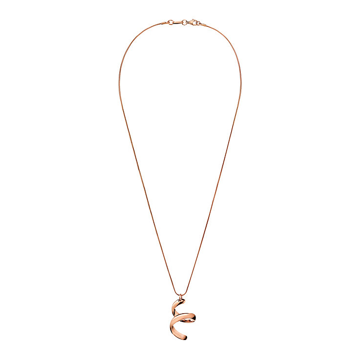 Calvin Klein embrace rose gold-plated pendant - Product number 2284189