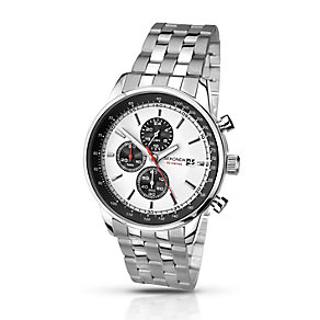 Sekonda Men's Monochrome Dial & Stainless Steel Watch - Product number 2284324