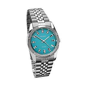 Sekonda Editions Ladies' Blue Dial Stainless Steel Watch - Product number 2284456