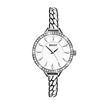 Seksy Ladies' Embrace Swarovski Elements Chain Watch - Product number 2284758