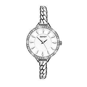 Sekonda Seksy Ladies' Embrace Swarovski Elements Chain Watch - Product number 2284758