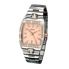 Sekonda Seksy Ladies' Swarovski Elements Two Tone Watch - Product number 2284790