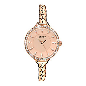Sekonda Seksy Ladies' Swarovski Elements Chain Watch - Product number 2284863