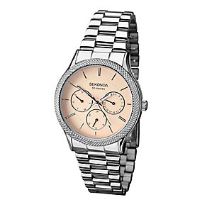 Sekonda Editions Ladies' Silver Tone Watch - Product number 2286610