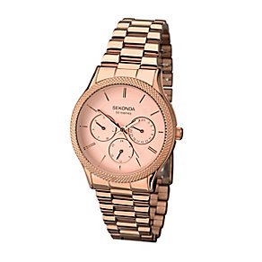 Sekonda Editions Ladies' Rose Gold Tone Watch - Product number 2286637