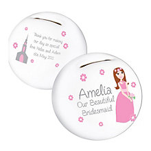 Fabulous Bridesmaid Money Box - Product number 2288060