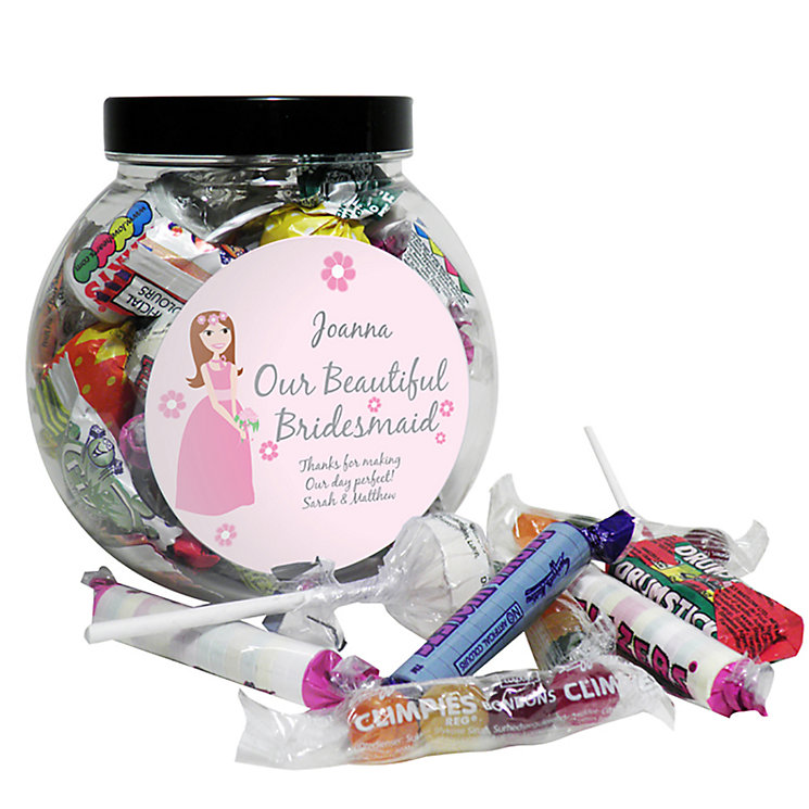 Fabulous Bridesmaid Sweet Jar - Product number 2288214