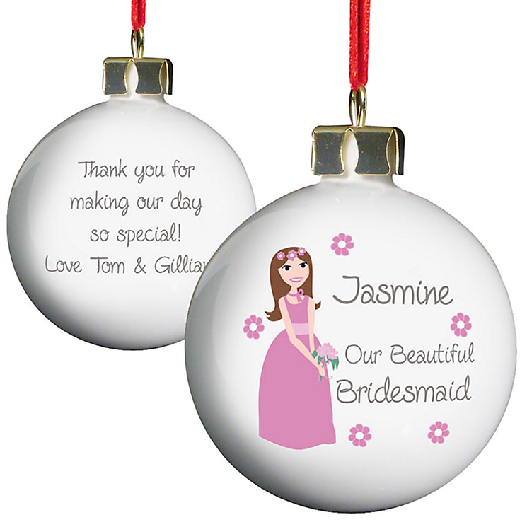 Fabulous Bridesmaid Bauble - Product number 2288222