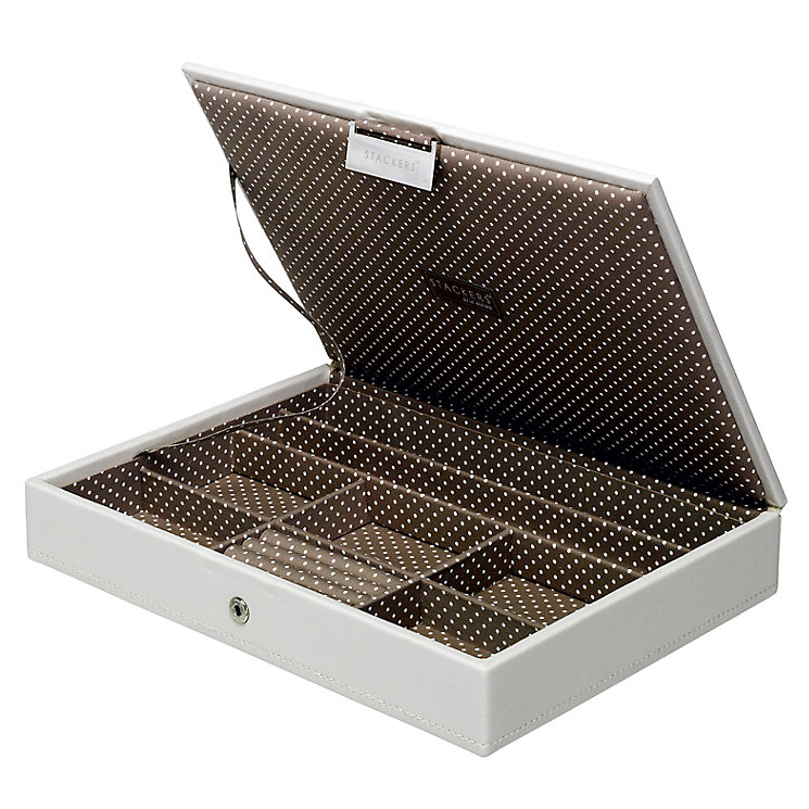Stackers Vanilla Lidded Stacker Jewellery Box - Product number 2290421