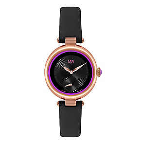 MW by Matthew Williamson Ladies' Leather Strap Watch - Product number 2291886