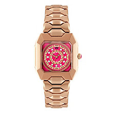 MW by Matthew Williamson Ladies' Rose Gold-Plated Watch - Product number 2292041