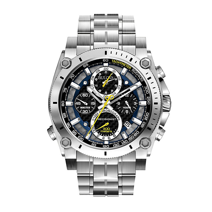 Bulova Precisionist men's stainless steel bracelet watch - Product number 2292947