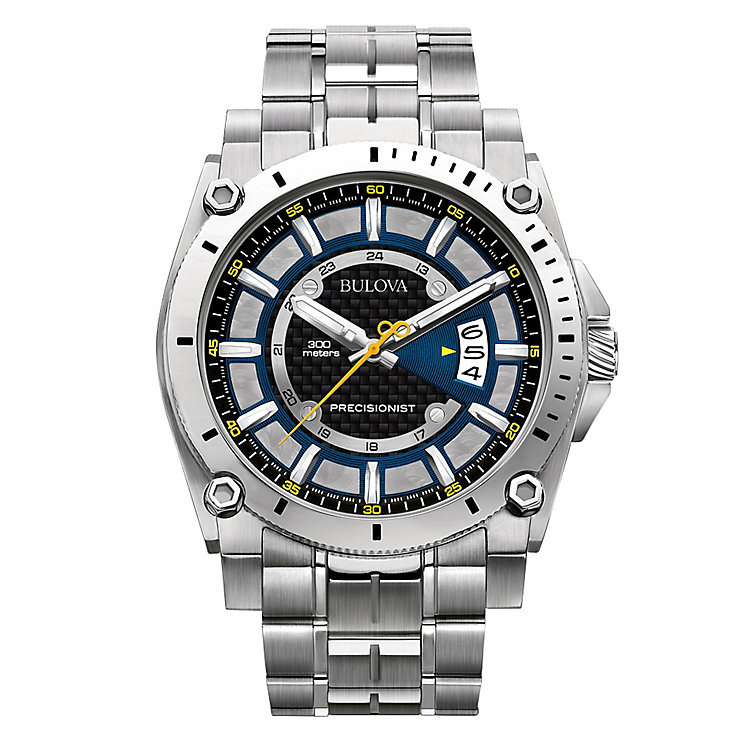 Bulova Precisionist men's stainless steel bracelet watch - Product number 2292955