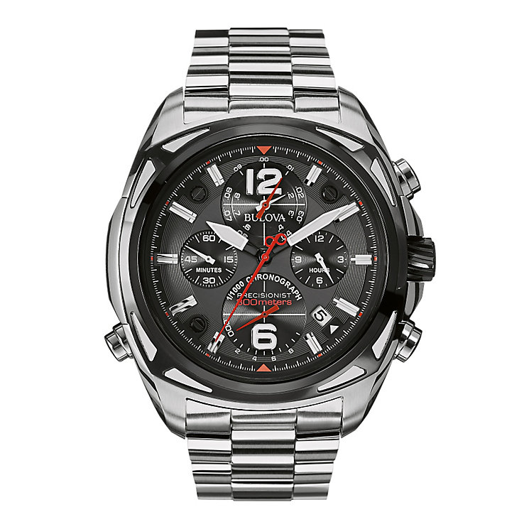 Bulova Precisionist men's stainless steel bracelet watch - Product number 2293013