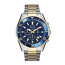 Bulova Marine Star men's two colour chronograph watch - Product number 2293056