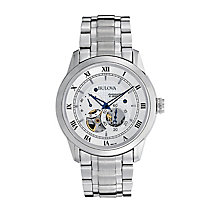 Bulova Automatic men's stainless steel bracelet watch - Product number 2293099